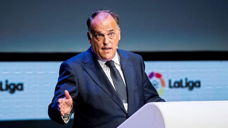 La Liga in danger from proposed 'European Super League': Tebas