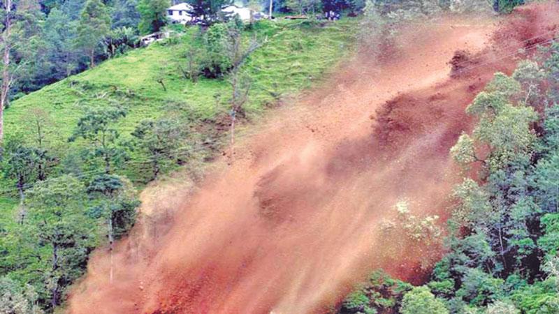 Landslides in Chattagram