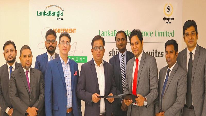 LankaBangla Finance, Shinepukur Suites sign MoU