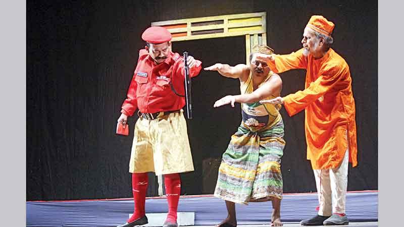 Loko Natyadal (Banani) to stage 'Konjush' today