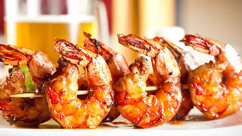 Weight loss: Low-cal grilled prawns recipe