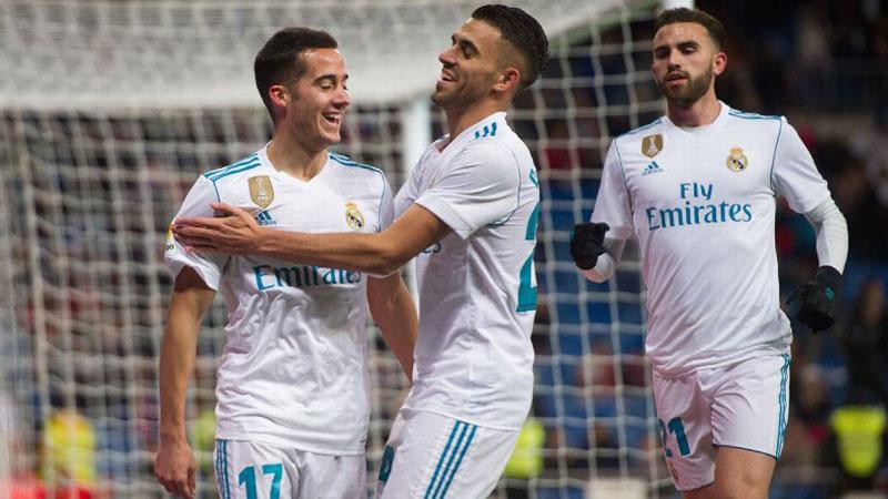 Lucas eases Real into Copa del Rey last 8