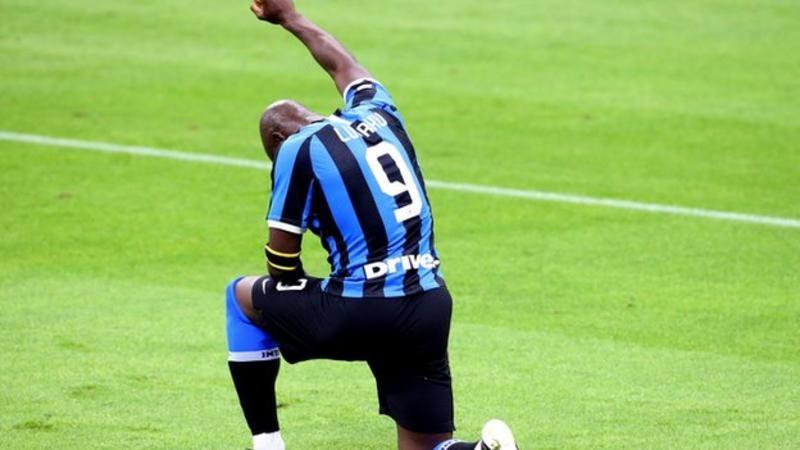 Lukaku scores and dedicates goal to George Floyd