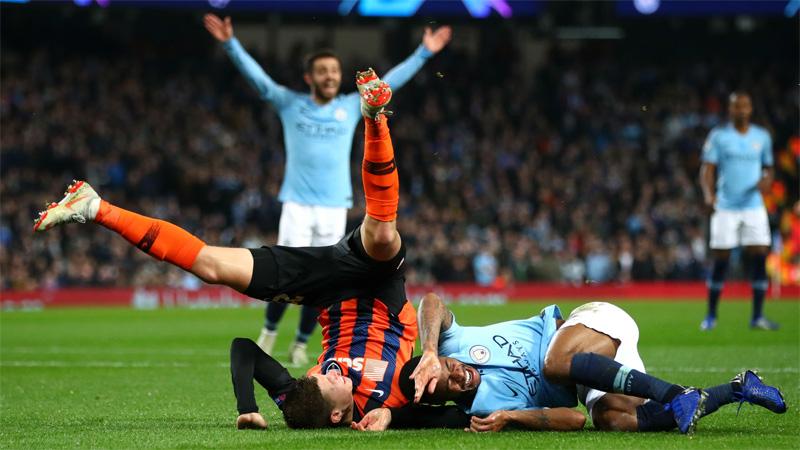 Manchester City 6 Shakhtar Donetsk 0: Bizarre penalty helps Jesus to hat-trick