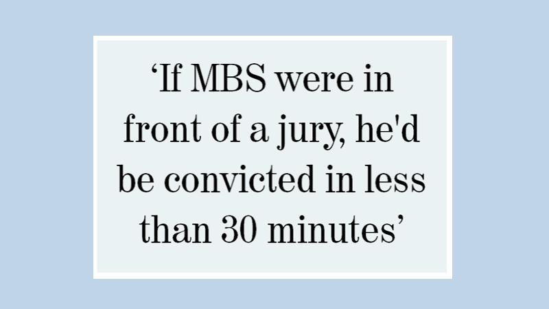 US senators blast MBS over Khashoggi murder