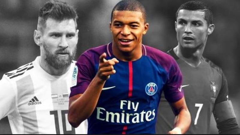 Messi, Ronaldo won't win Ballon d'Or, says Mbappe