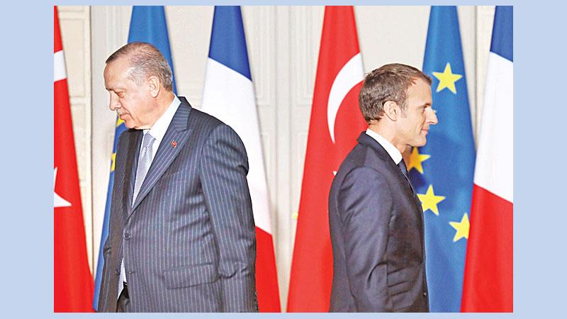 Macron is in a state of 'brain death': Erdogan