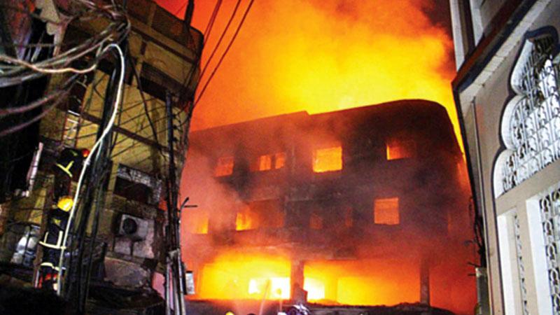 Malls still exposed to fire hazards