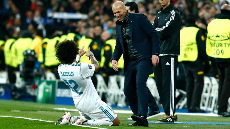 'I gave everything for Zidane': Marcelo