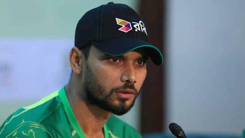 Mashrafe likely to miss ODI series against West Indies