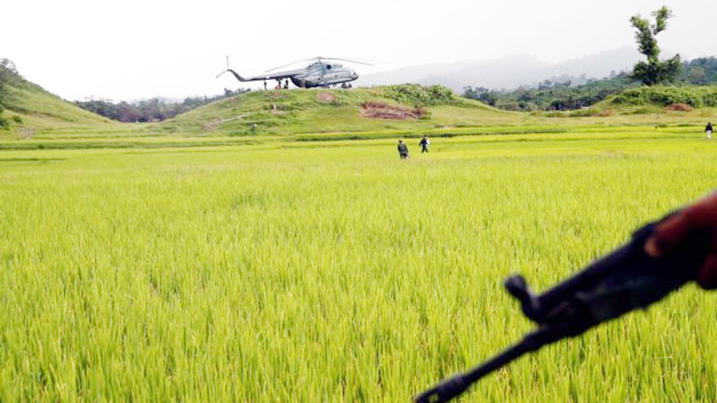 Myanmar army finds 10 bodies in mass grave