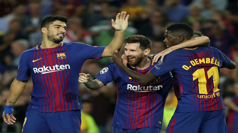 Messi finally conquers Buffon as Barcelona beats Juve 3-0