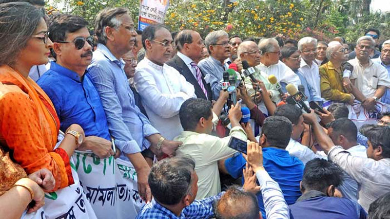 Khaleda deceitfully being deprived of legal right: Fakhrul