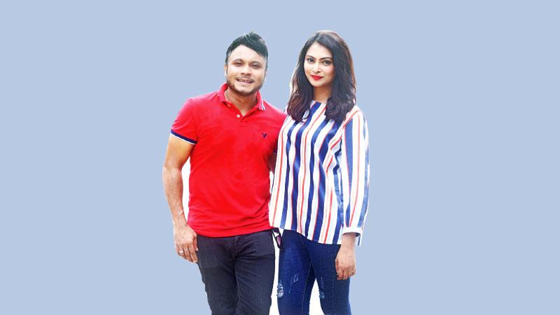 Mishu and Nabila in 'Bharatiya vs Bariwala'