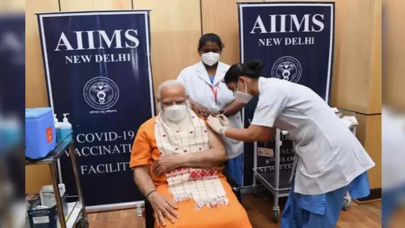 Indian PM Modi gets second dose of Covid-19 vaccine