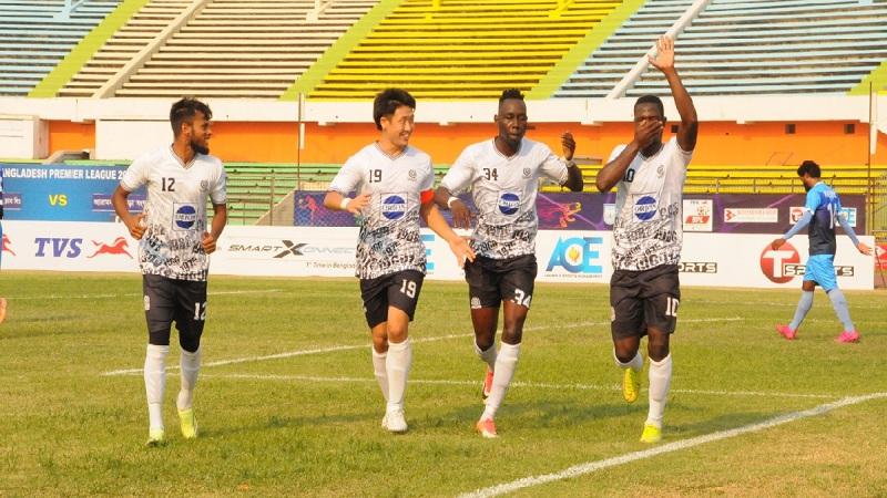 BPL Football: Mohammedan SC make good start beating Arambagh KS 2-1