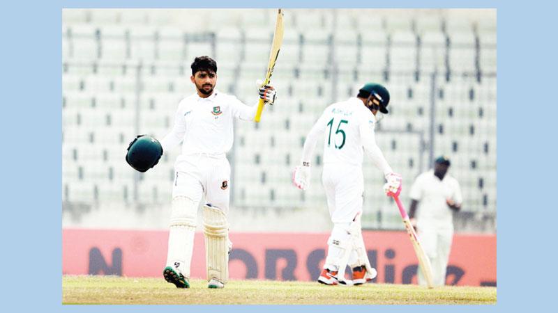 Mominul emulates Tamim feat, scores 9th Test ton