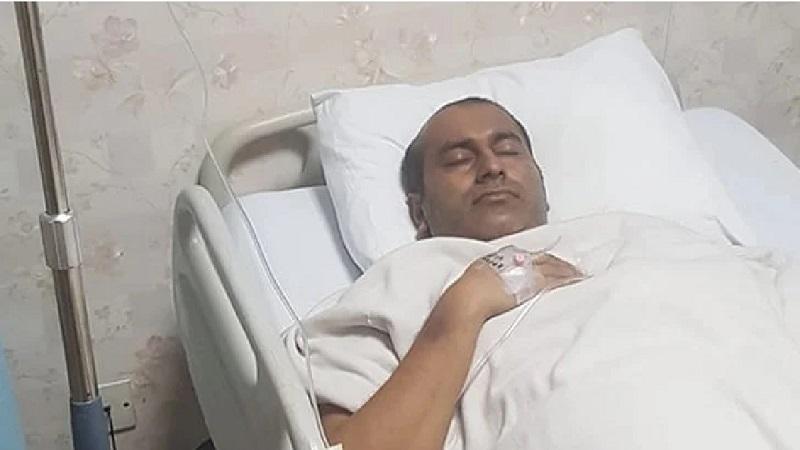 Cricketer Mosharraf hospitalised again