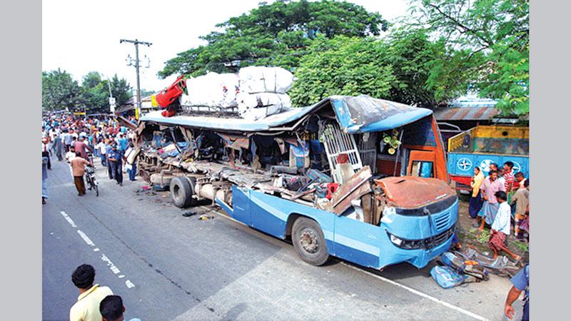 Most of the vehicles on the roads run berserk