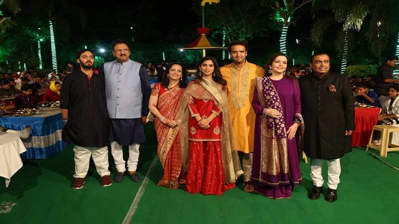 Wedding of Mukesh Ambani's daughter to cost US$100 million