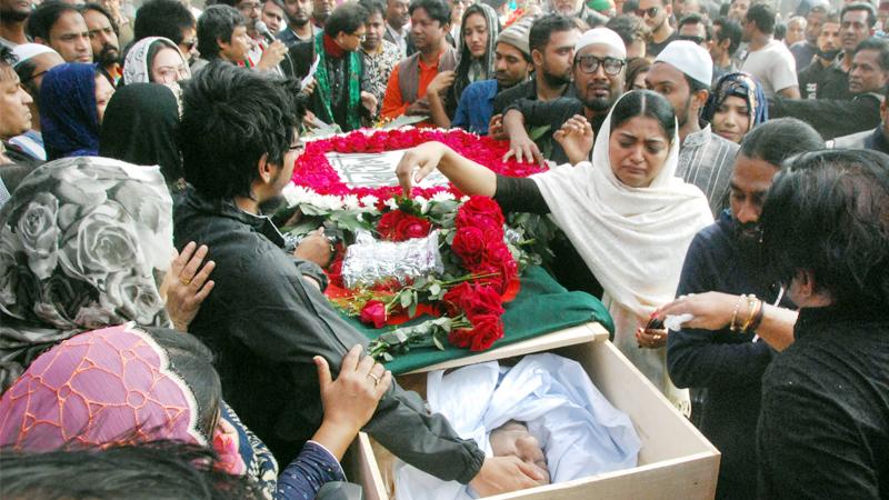 Musician Imtiaz Bulbul laid to rest