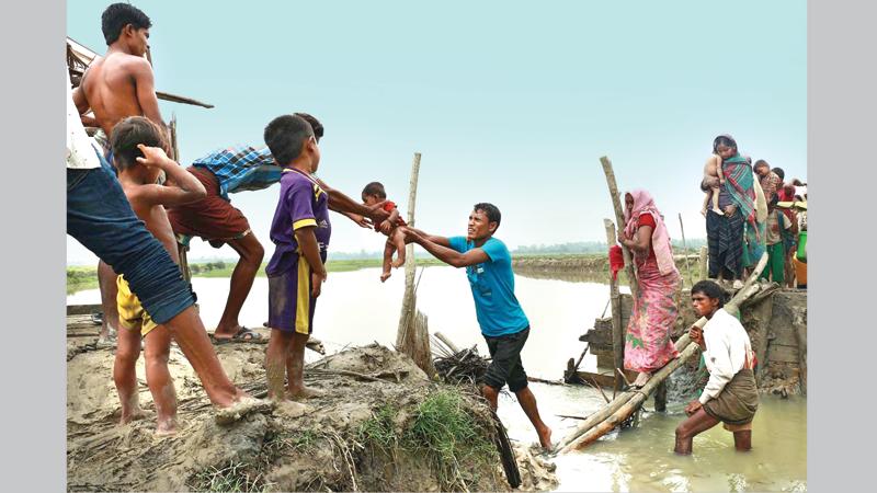 Some activities visible in Myanmar