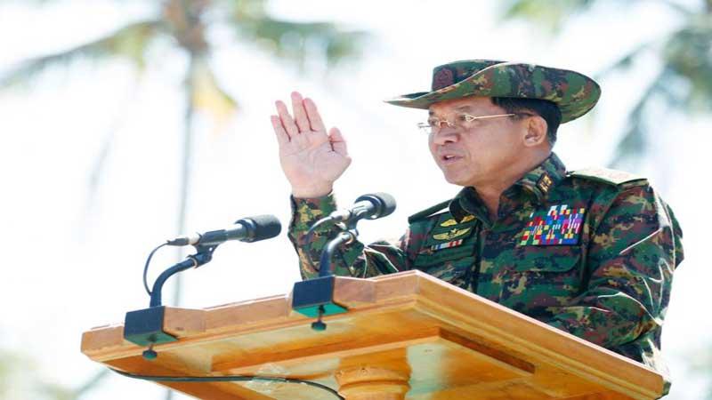 UN has 'no right to interfere': Myanmar army chief