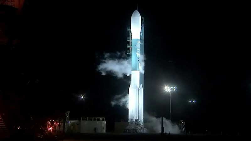 NASA blasts off space laser satellite to track ice loss