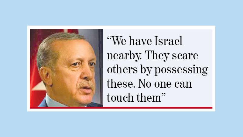 No longer obedient NATO ally, Erdogan floats nuclear option