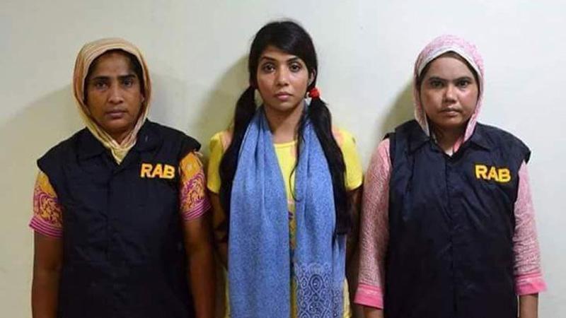 Actress Nawshaba remanded, again