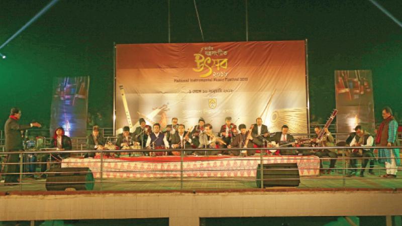 1st National Instrumental Music Festival ends