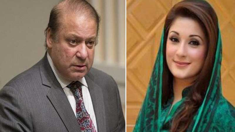 Nawaz, daughter released on parole to attend Kulsoom's funeral
