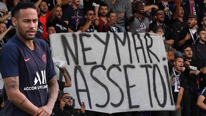 'Get out, son of a b*tch!': PSG fans turn on Neymar