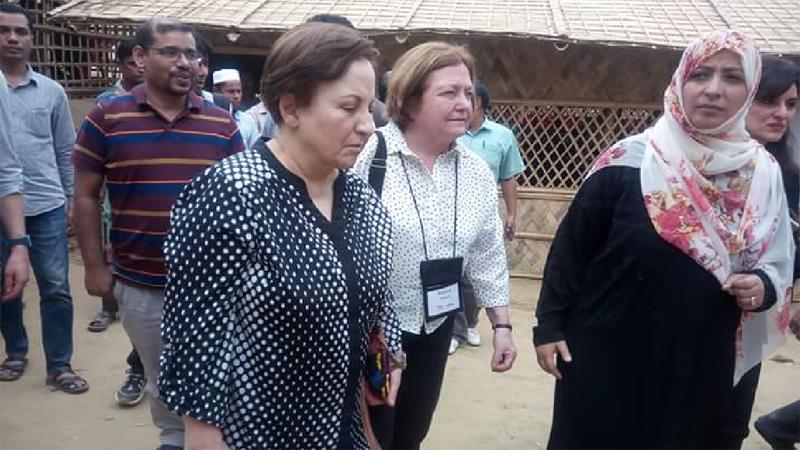 Nobel laureates urge Suu Kyi to be accountable for crimes against Rohingyas