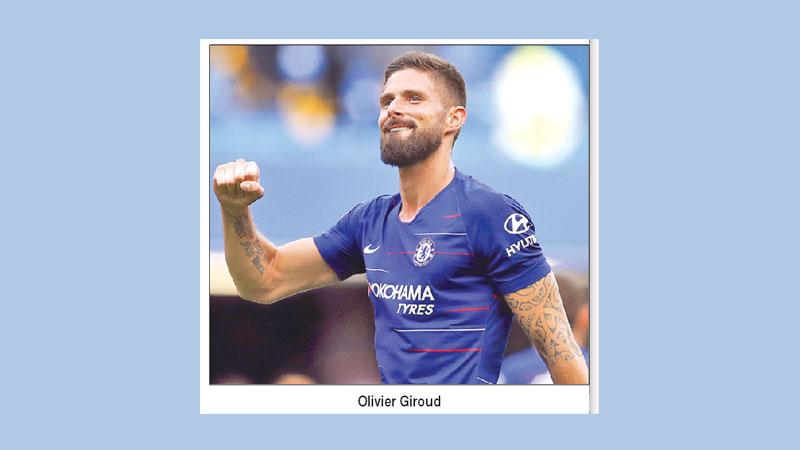 Giroud gears up to face Arsenal