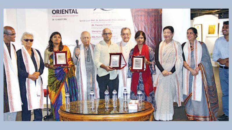 Art show 'The Oriental' underway at Abinta Gallery