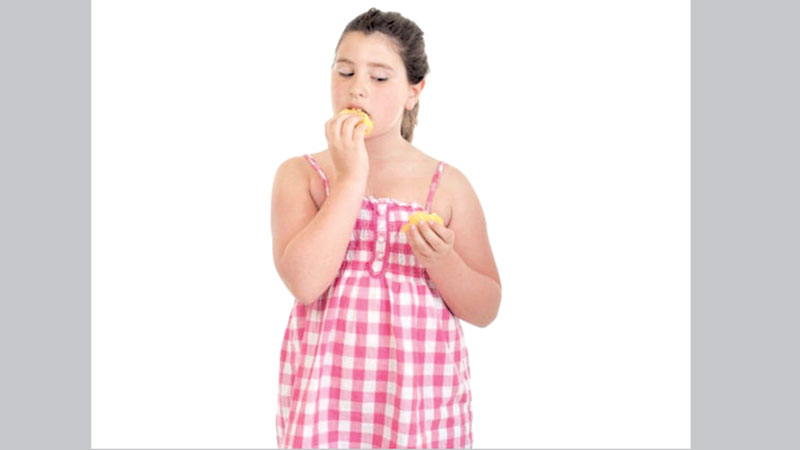 Overweight kids eat less right after stressful events: Study