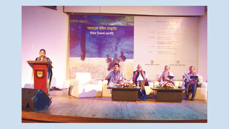 'Paharer Barnil Sangskriti'  underway at Shilpakala