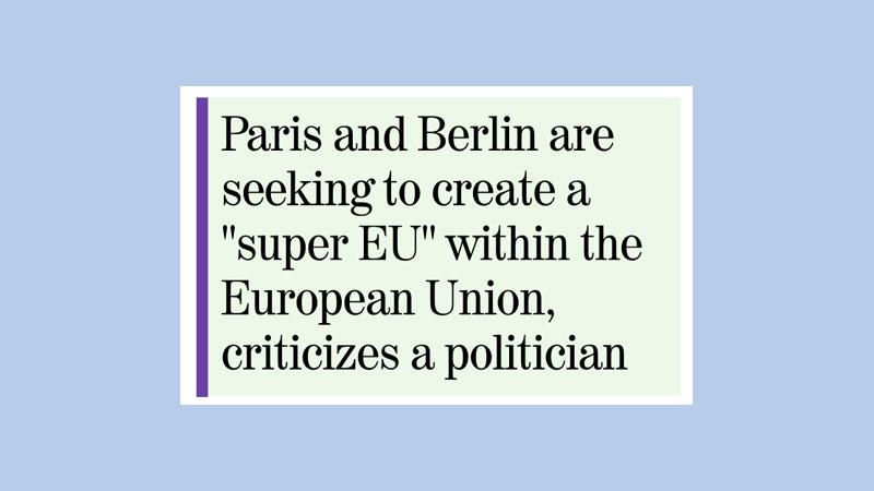 France, Germany step up ties to tackle EU crisis