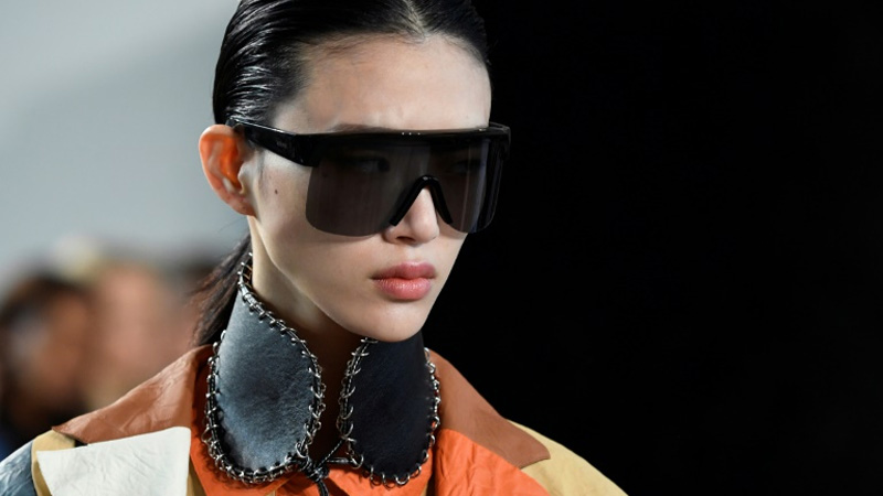 Tiny bags and big shades: top trends at Paris fashion week