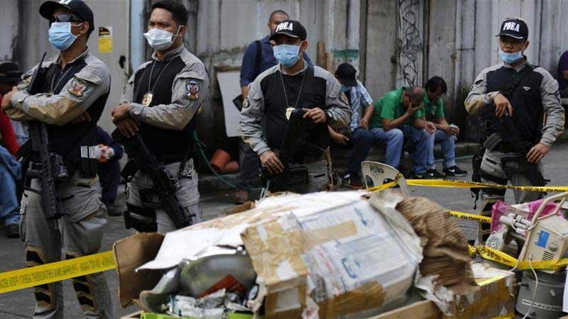 Image result for Drug war: Philippine Mayor, wife killed in Police raid