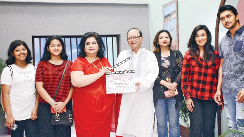 Ekti Cinemar Galpo' shooting kicks off   theindependentbd com