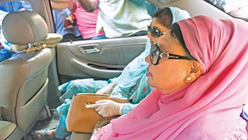 Corona and the release of Khaleda Zia