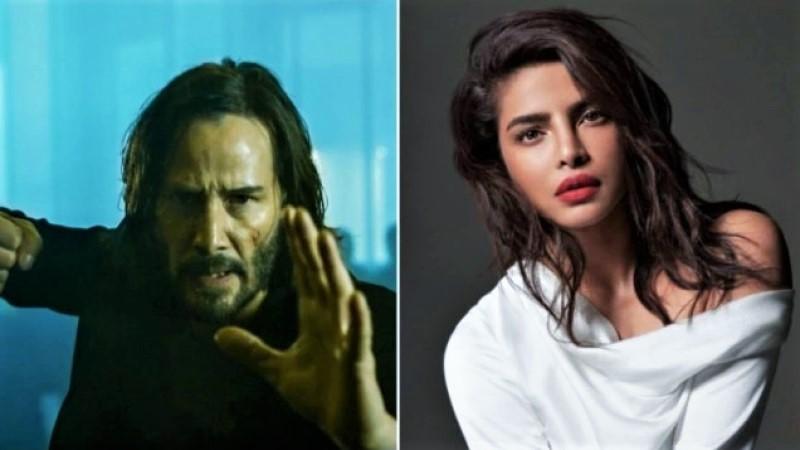 Priyanka Chopra shares Matrix Resurrections teaser, see first look of Keanu as Neo