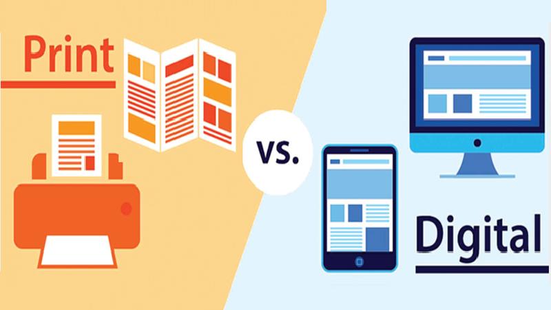 Internet and Print media