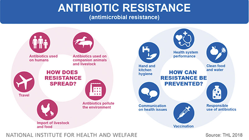 Problem of the new century: Antibiotic resistance