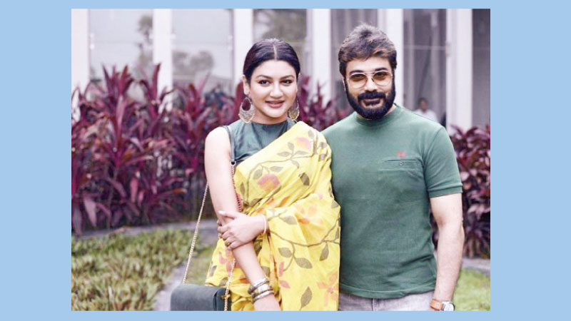 Prosenjit and Jaya to share screen for first time