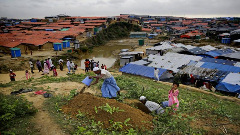 Bangladesh paying heavily for Rohingya's prolonged stay