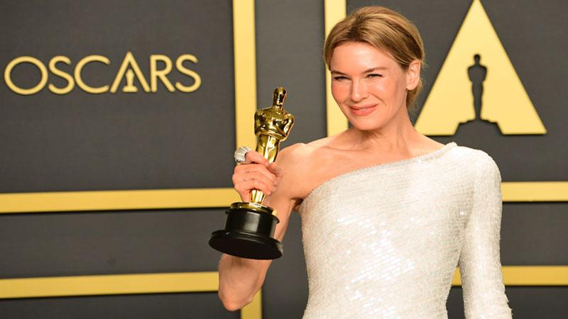 Renée Zellweger and ex Bradley Cooper reunite at the Oscars