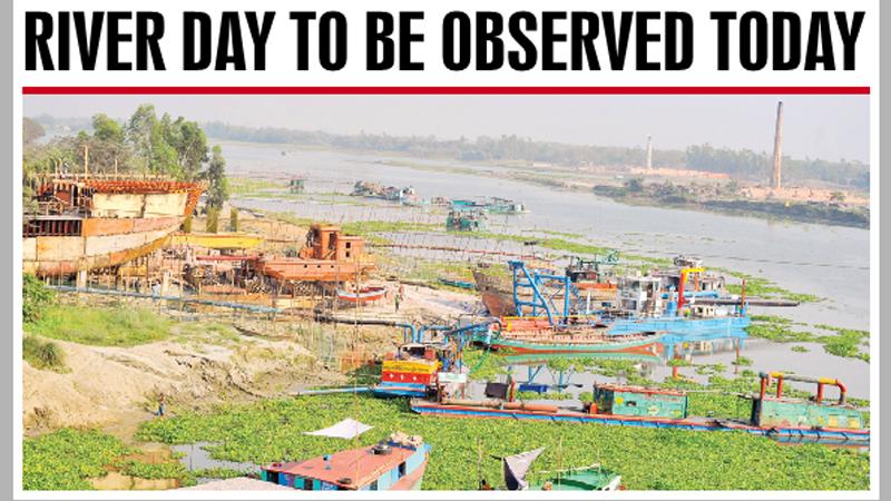 '77 rivers vanish from Bangladesh'